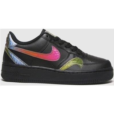 Nike Black Air Force 1 Lv8 2 Trainers Youth