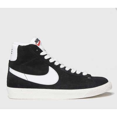Nike Black & White Blazer Mid Trainers Youth