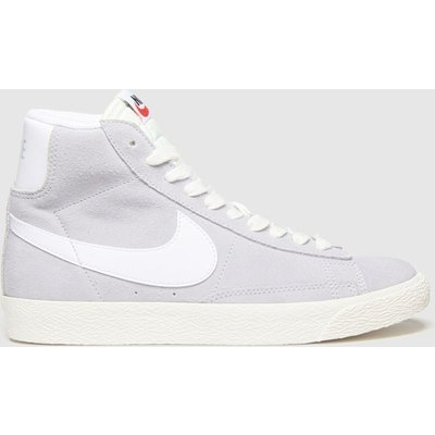 Nike Grey Blazer Mid Trainers Youth