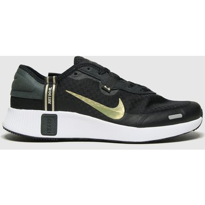 Nike Black & Gold Reposto Trainers Youth