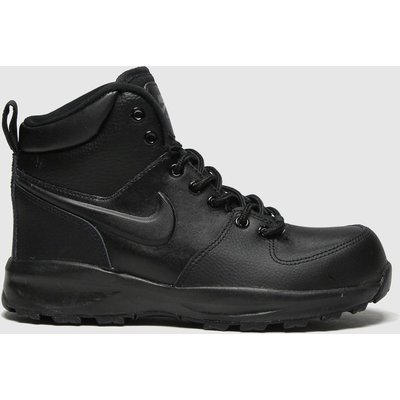 Nike Black Manoa Ltr Trainers Youth