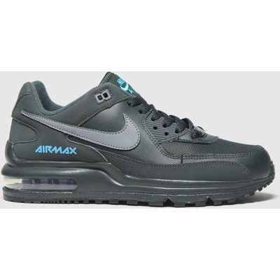 Nike Black And Blue Air Max Wright Trainers Youth