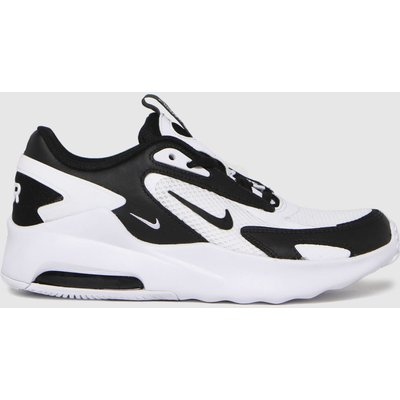 Nike White & Black Air Max Bolt Trainers Youth