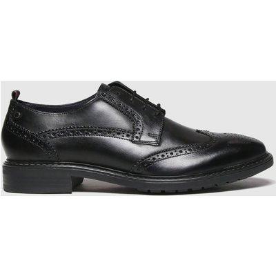 Base London Black Lennox Shoes