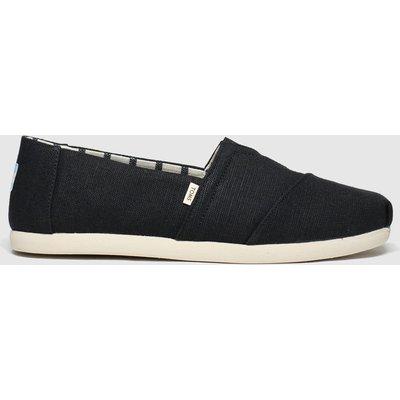 Toms Black & White Alpargata Venice Shoes