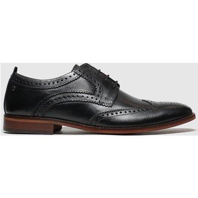 Base London Black Motif Shoes