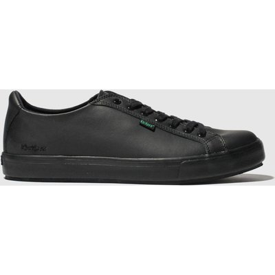 Kickers Black Tovni Lacer Shoes