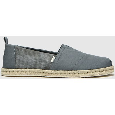 Toms Khaki Alpargata Rope Sole Shoes