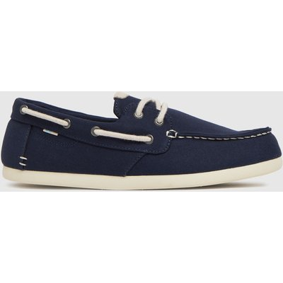 TOMS Navy Claremont Shoes
