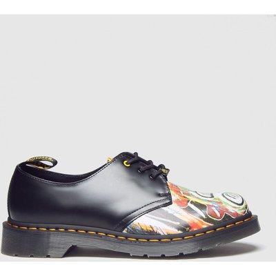 Dr Martens Black 1461 3 Eye Basquiat Shoes