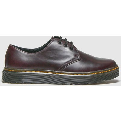 Dr Martens Burgundy Thurston Lo Shoes