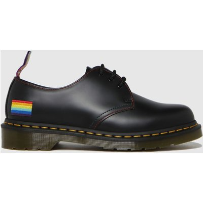 Dr Martens Black 1461 Pride Shoes