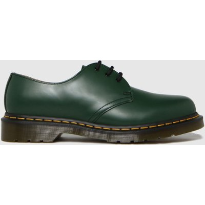 Dr Martens Green 1461 3 Eye Shoes
