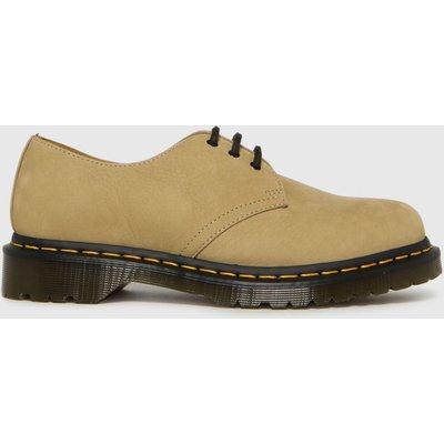 Dr Martens Tan 1461 3 Eye Shoes