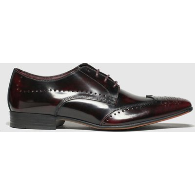 Schuh Burgundy Letts Brogue Shoes