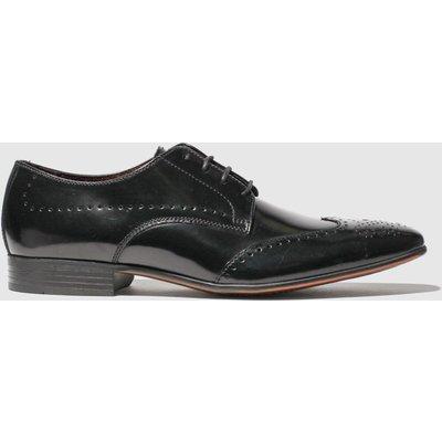Schuh Black Letts Brogue Shoes