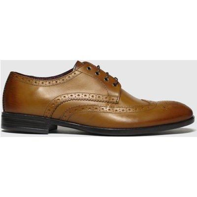 Schuh Tan Brunel Brogue Shoes