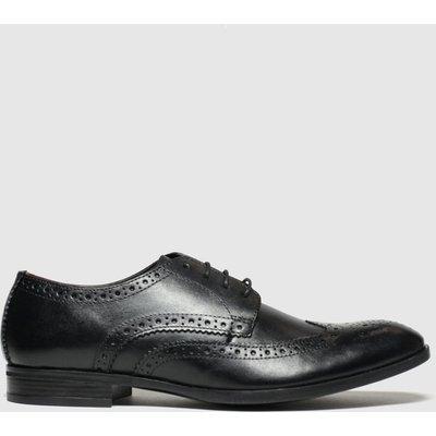 Schuh Black Brunel Brogue Shoes