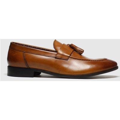 Schuh Tan Catch Apron Shoes