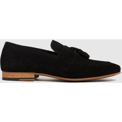 Schuh Black Oscar Suede Tassle Shoes
