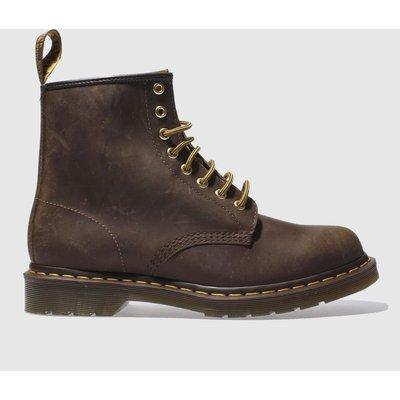 Dr Martens Dark Brown 1460 8-eye Boots