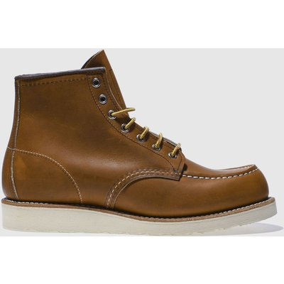 Red Wing Tan 6-inch Classic Moc Boots