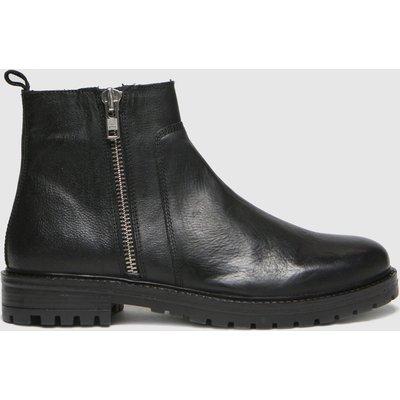 Schuh Black Marcus Side Zip Boots