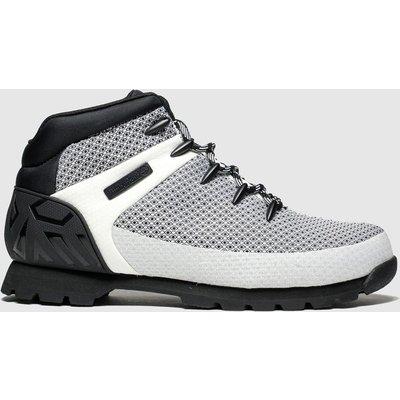 Timberland White & Black Euro Sprint Boots