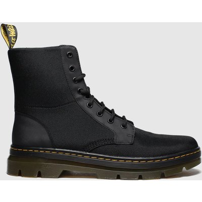 Dr Martens Black Combs 8 Eye Boots