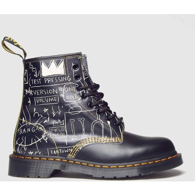 Dr Martens Black 1460 8 Eye Basquiat Boots