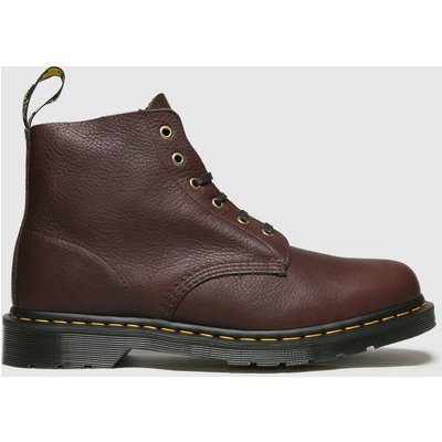 Dr Martens Brown 101 Unbound 6 Eye Boots