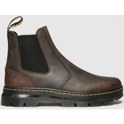 Dr Martens Brown 2976 Tract Chelsea Boots