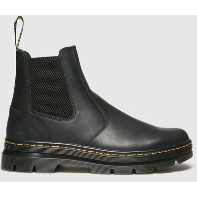 Dr Martens Black 2976 Tract Chelsea Boots