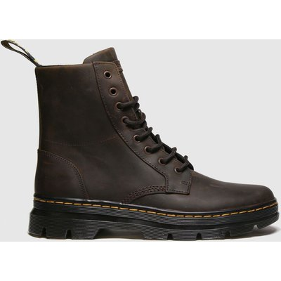 Dr Martens Brown Combs Leather Boot Boots
