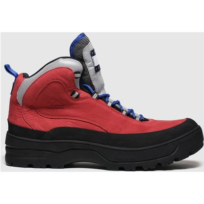 Tommy Hilfiger Red Expedition Mens Boot Trainers