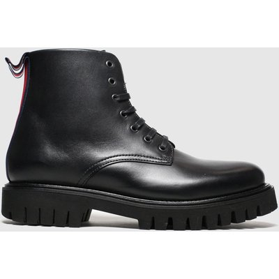 Tommy Hilfiger Black Chunky Dress Boot Boots