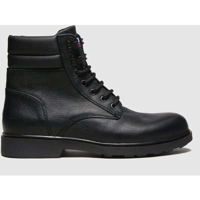 Tommy Hilfiger Black Padded Ankle Boots