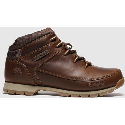 Timberland Brown Eurosprint Mid Hiker Boots