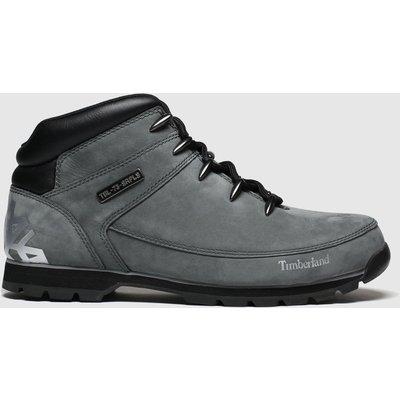 Timberland Grey Eurosprint Mid Hiker Boots