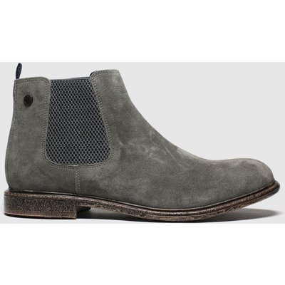 Base London Grey Flint Boots