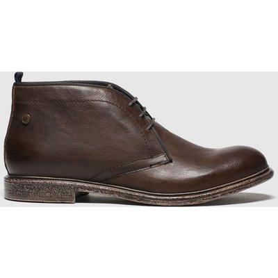 Base London Brown Jasper Boots
