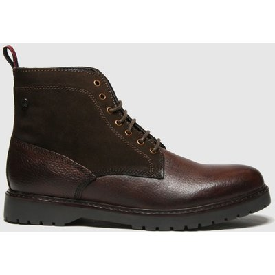 Base London Dark Brown Forge Boots