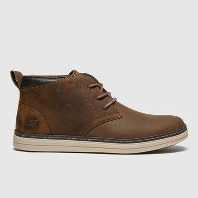 SKECHERS Brown Heston Regano Boots