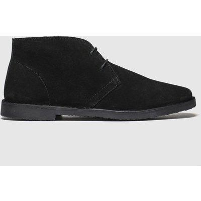 Schuh Black Simpson Desert Boots