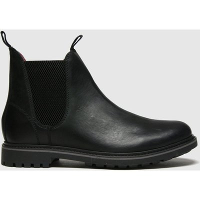Schuh Black Dylan Leather Chelsea Boots