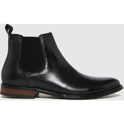 Schuh Black Damien Leather Chelsea Boots