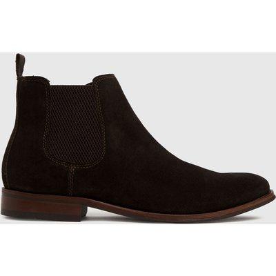 Schuh Brown Damien Suede Chelsea Boots