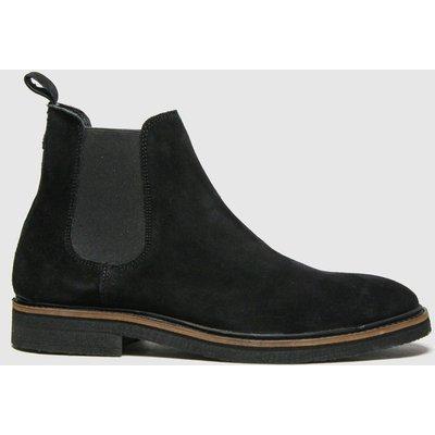 Schuh Black Drew Suede Chelsea Boots