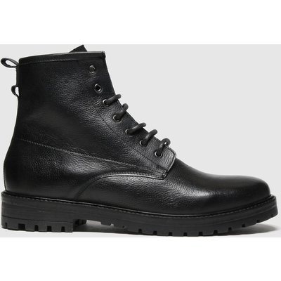 Schuh Black Jaxon Lace Up Boots
