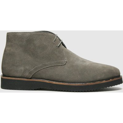Schuh Grey & Black Griffin Chukka Boots